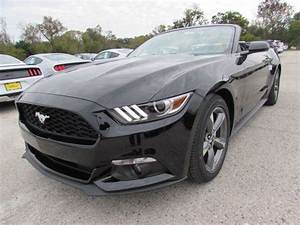 2017 Ford Mustang V6 5 Miles Black Convertible Regular Unleaded V-6 3.7 L/227 Ma for sale in ...