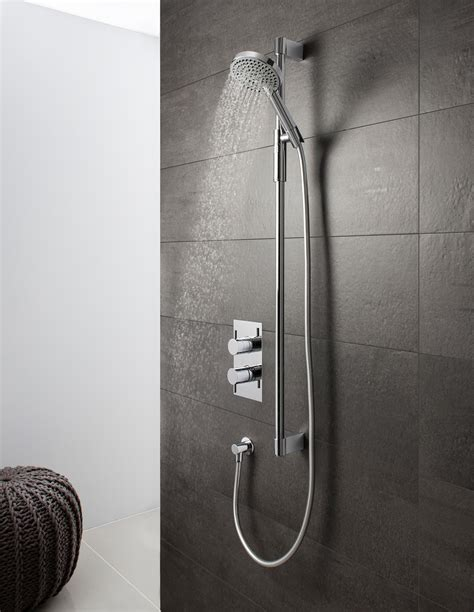 ethos premium shower kit   premium shower kits luxury bathrooms uk crosswater holdings