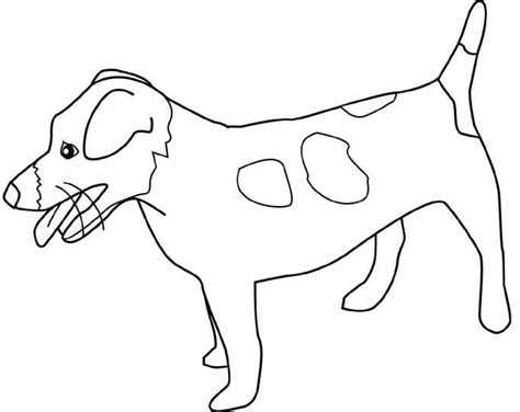 Dogs Jack-russell-terrier Coloring Pages