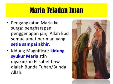 homili santa pewaran maria diangkat  surga maria assumpta
