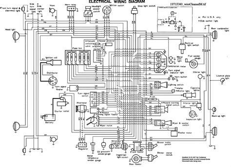 land cruiser wiring diagram wiring diagrams