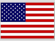 Bandera de Estados Unidos, Bandera de USA