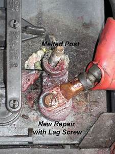 Battery Terminal Repair On Electric Golf Carts