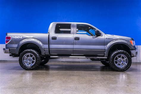 2012 F 150 Xlt by 2012 Lifted Ford F 150 Xlt 4x4 Truck With Chrome Rims