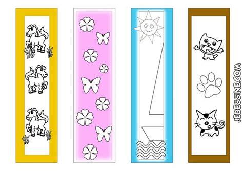 marque page animaux coloriages 4 signets animaux et nature 224 imprimer fr