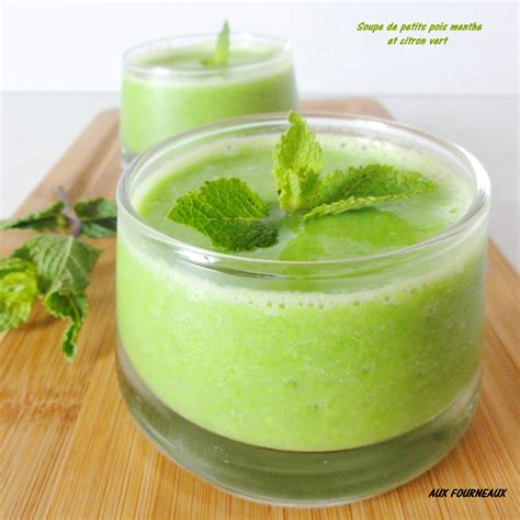 comment cuisiner des petit pois frais soupe de petits pois menthe citron vert aux fourneaux