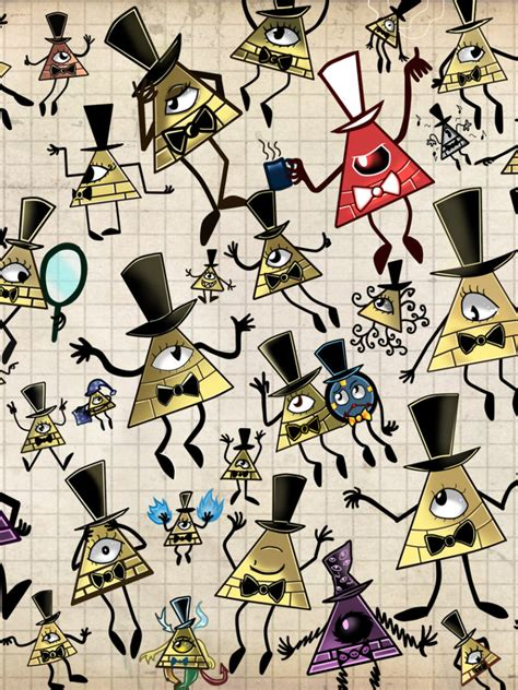 Explore stunning bill cypher wallpapers, created by theotaku.com's friendly and talented community. Free download Bill Cipher Overload by MonotoneInkwell 1600x1077 for your Desktop, Mobile ...