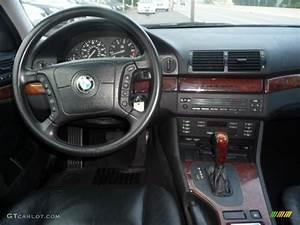 2001 BMW 5 Series 525i Sport Wagon Black Dashboard Photo