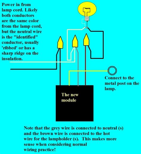 Westek Touch Dimmer Wiring Diagram by Replacing A Touch L Unit Electrical