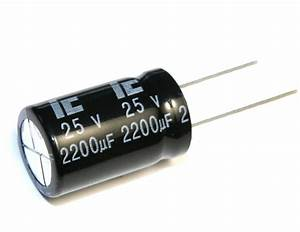 4pcs Illinois Capacitor Ckh 2200uf 25v 105c Radial