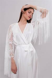 long bridal robe f29 long silk robe bridal robe with lace With robe wedding