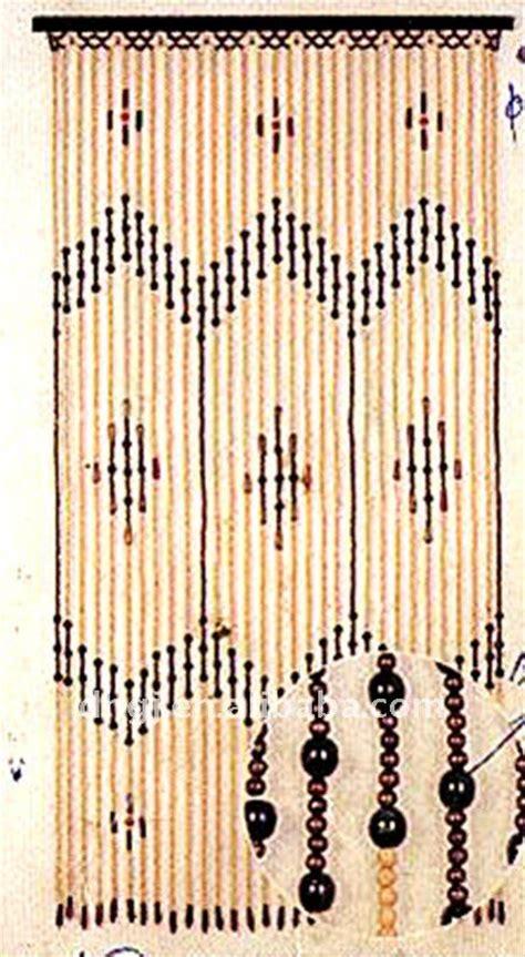 rideaux en perles de bois 90 180 cm en bois perles rideaux de porte ridaux stores volets id de produit 379040748