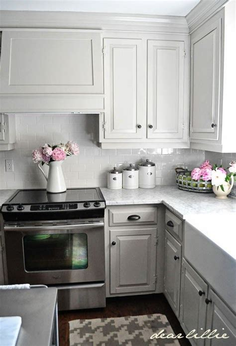 25 best ideas about light gray cabinets on