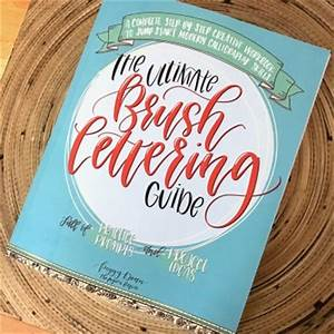 blog clementine design blog With brush lettering book