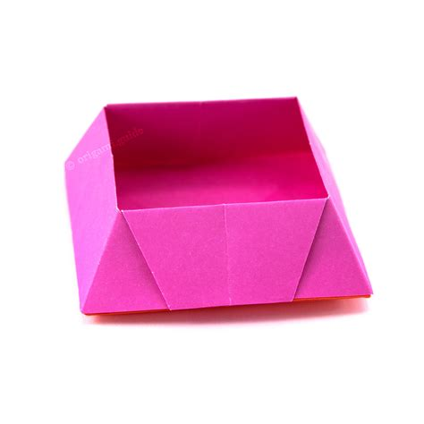 How Make Origami Candy Box Guide
