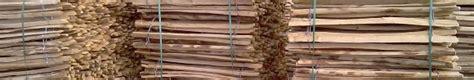 frans kastanje hekwerk en engels kastanje hekwerk biezen hout