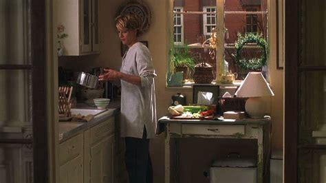 meg ryans brownstone kitchen youve  mail hooked