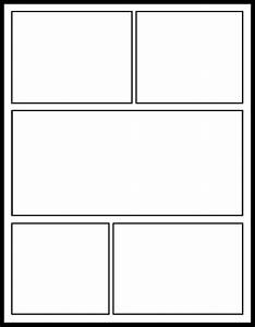 comic book template peerpex With comic strip template maker