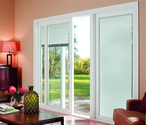 sliding door with blinds in the glass valances for sliding glass doors with blinds inside spotlats