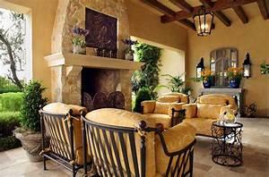 mediterranean home decor with dark cream wall paint color With interior paint mediterranean colors