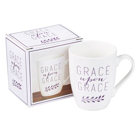 Grace coffee co., though sounding a little deceiving while implying coffee in the name, can be a great option for a saturday morning boozy brunch. Grace Upon Grace Coffee Mug - John 1:16 | Free Delivery when you spend £10 @ Eden.co.uk