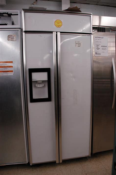 appliance direct video blog ge monogram  built  side  side refrigerator  dispenser