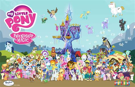 Equestria Daily Mlp Stuff Season 4 Character Poster