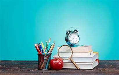 Education Supplies Wallpapers Desktop Resolution Pens Notebooks