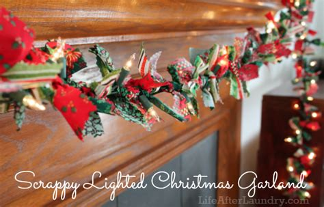 scrappy lighted garland life after laundry