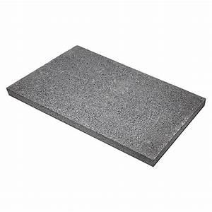 Terrassenplatten 2 Cm Stark : terrassenplatte anthrazit 40 cm x 60 cm x 3 cm granit wassergestrahlt 5695 null faea ~ Frokenaadalensverden.com Haus und Dekorationen