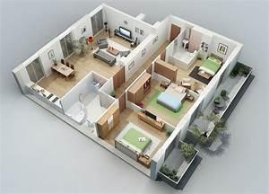 best 25 condo floor plans ideas on pinterest apartment With 3d home plans imposing design