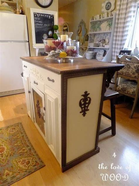 mobile kitchen cabinet cabinet transformed into a kitchen island repurposed 4178