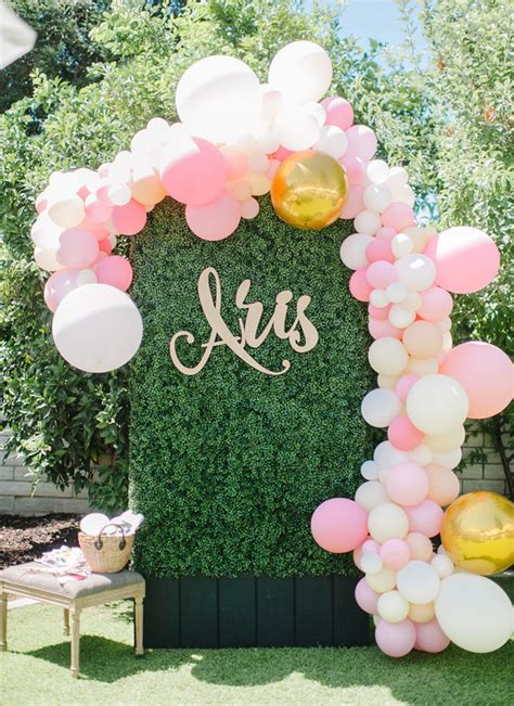 pink balloon arch  parties wedding party ideas