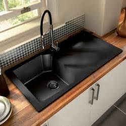 Unstopping Kitchen Sink by White Kitchen Black Sink