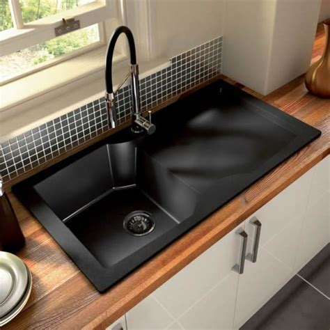 black kitchen sink 17 best images about kitchen sinks on black 4740