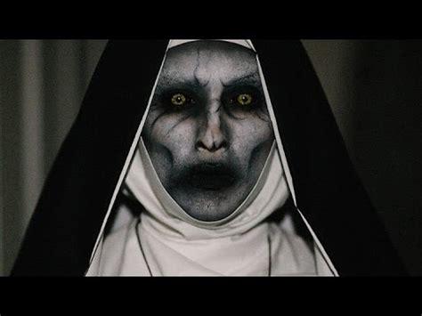 conjuring  valak inspired makeup halloween