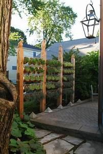 Sichtschutz Zum Bepflanzen : kreative gartenzaun ideen ~ Sanjose-hotels-ca.com Haus und Dekorationen