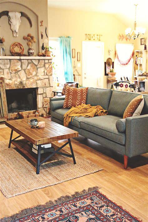 Laura's Earthy Bohemian Living Room — Welcome, Boho Babes
