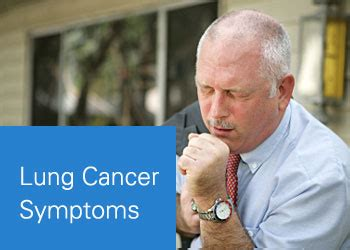 lung cancer symptoms symptoms  lung cancer