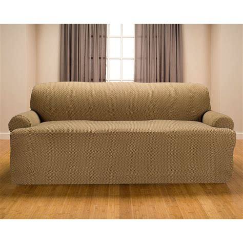 Loveseat Cushion Covers by Galway Premium Stretch T Cushion Sofa Slipcover Ebay
