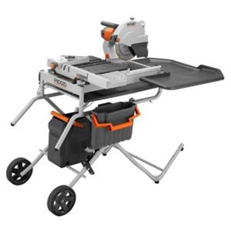ridgid 10 in portable tile saw with laser discontinued