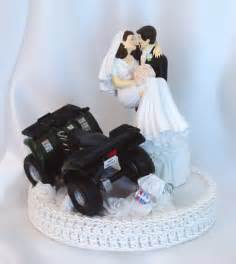 bald groom cake topper atv wedding atv cake topper
