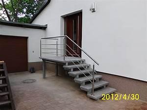 Treppe Hauseingang Bilder : au en treppen eingangstreppe baustoffe st bing ~ Markanthonyermac.com Haus und Dekorationen