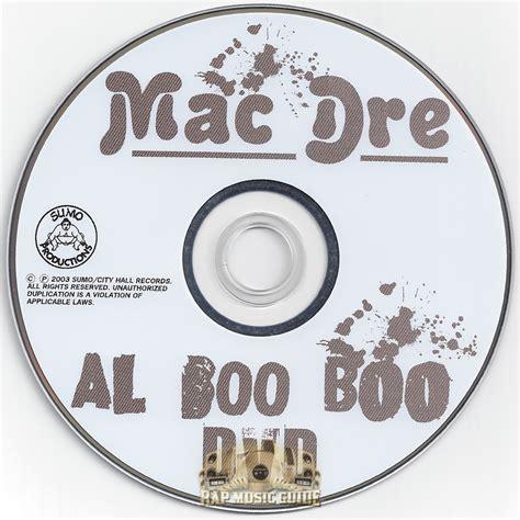 Mac Dre Genie Of The L Tracklist by Mac Dre Al Boo Boo Cd Rap Guide