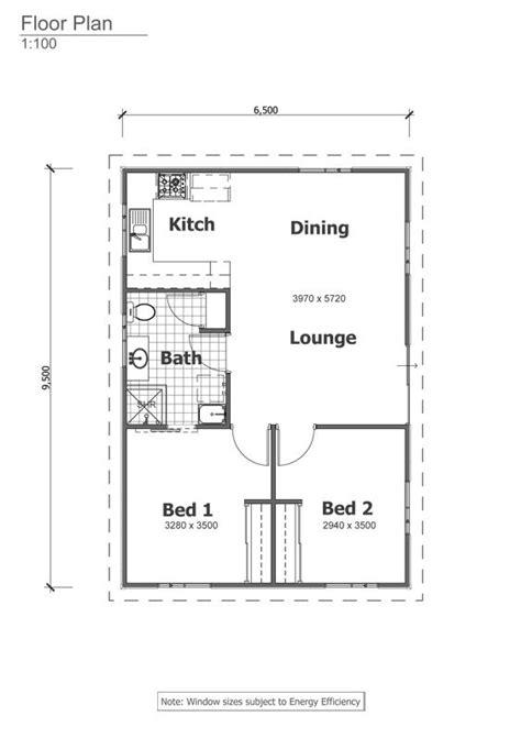 retreat grannyflat floorplan  granny flats