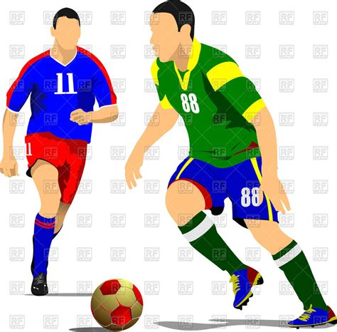 Soccer Player Clipart Soccer Player Running Clipart Collection