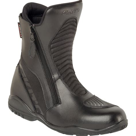 short motorbike boots akito scout motorcycle boots short waterproof all purpose