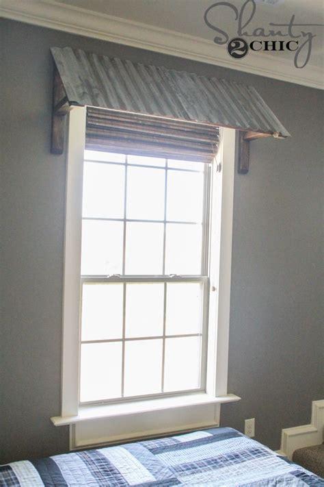 diy corrugated metal awning metal awnings  windows