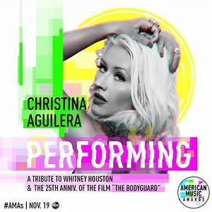 Christina Aguilera To Perform Tribute To Whitney Houston ...
