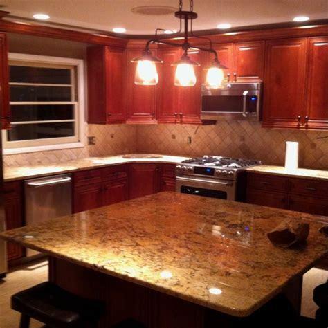 New kitchen. Solarius granite!   For the Home   Pinterest